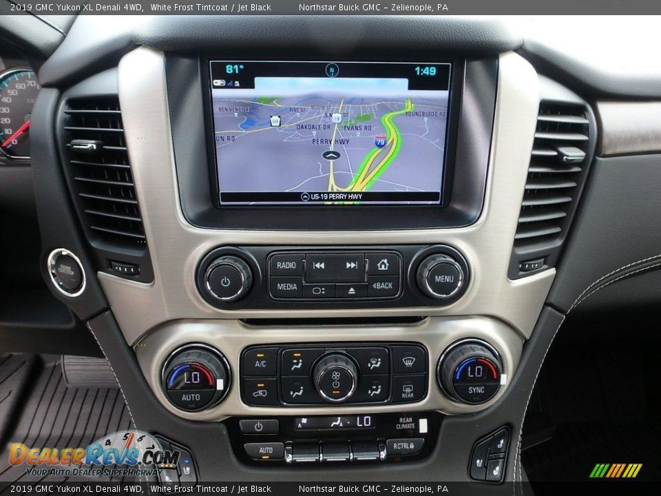 Navigation of 2019 GMC Yukon XL Denali 4WD Photo #19