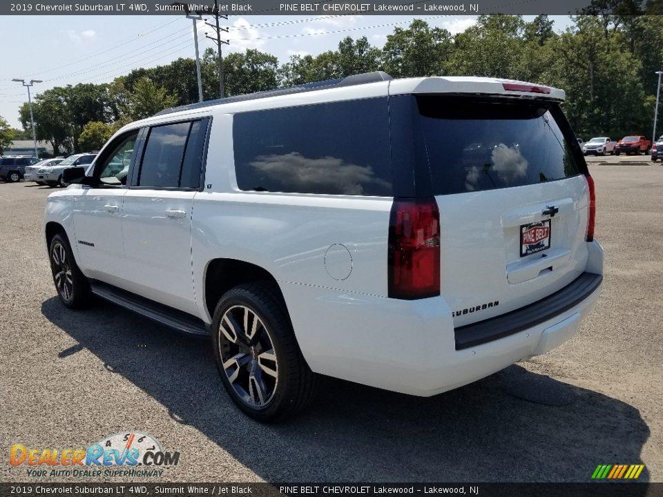 2019 Chevrolet Suburban LT 4WD Summit White / Jet Black Photo #4