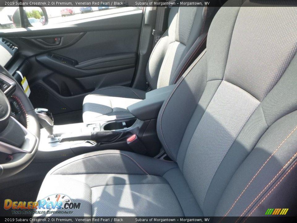 2019 Subaru Crosstrek 2.0i Premium Venetian Red Pearl / Black Photo #15