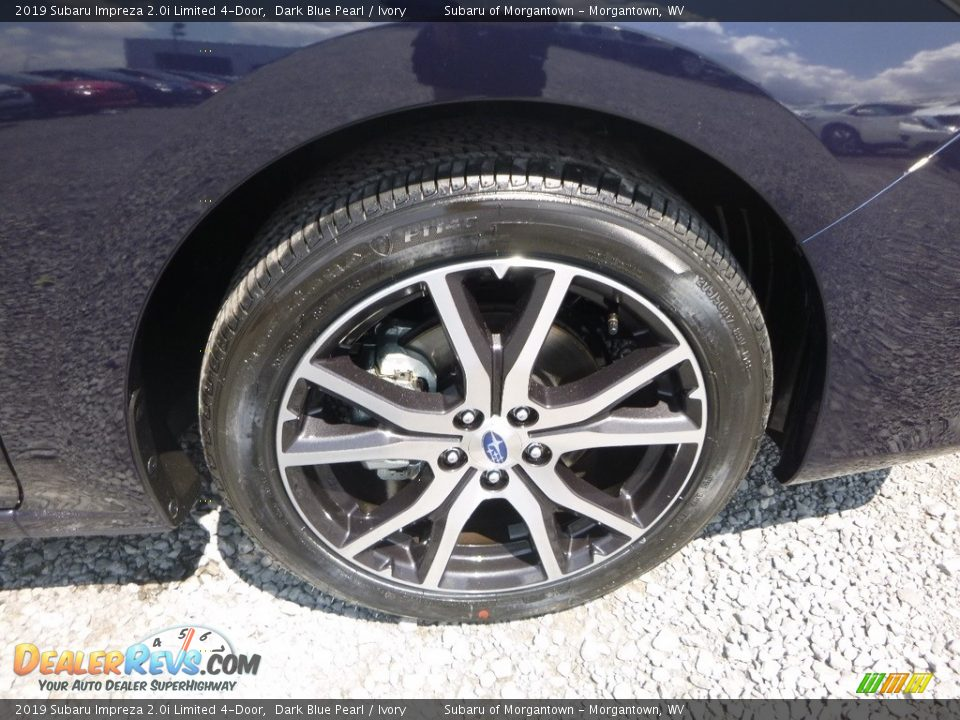 2019 Subaru Impreza 2.0i Limited 4-Door Dark Blue Pearl / Ivory Photo #2