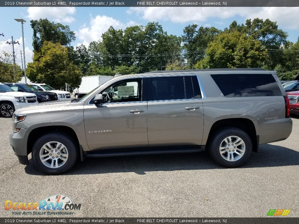 2019 Chevrolet Suburban LS 4WD Pepperdust Metallic / Jet Black Photo #3