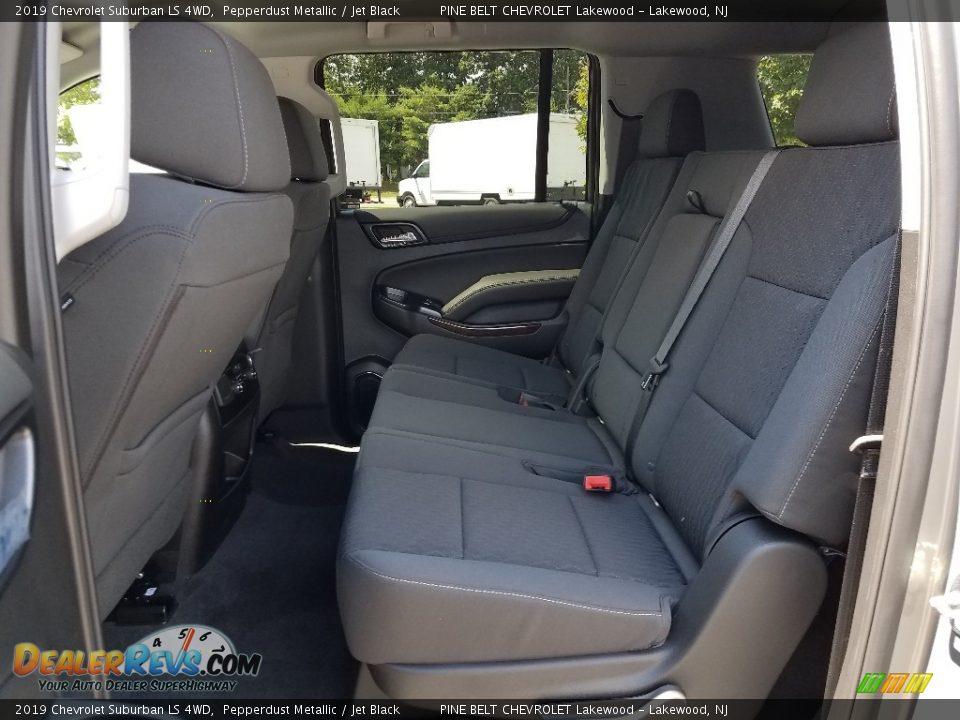 2019 Chevrolet Suburban LS 4WD Pepperdust Metallic / Jet Black Photo #6