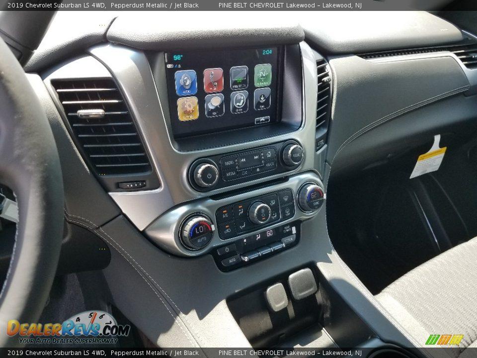 2019 Chevrolet Suburban LS 4WD Pepperdust Metallic / Jet Black Photo #10