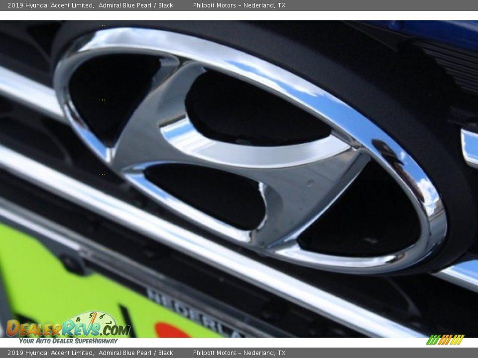 2019 Hyundai Accent Limited Admiral Blue Pearl / Black Photo #4