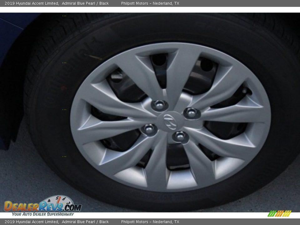 2019 Hyundai Accent Limited Admiral Blue Pearl / Black Photo #5