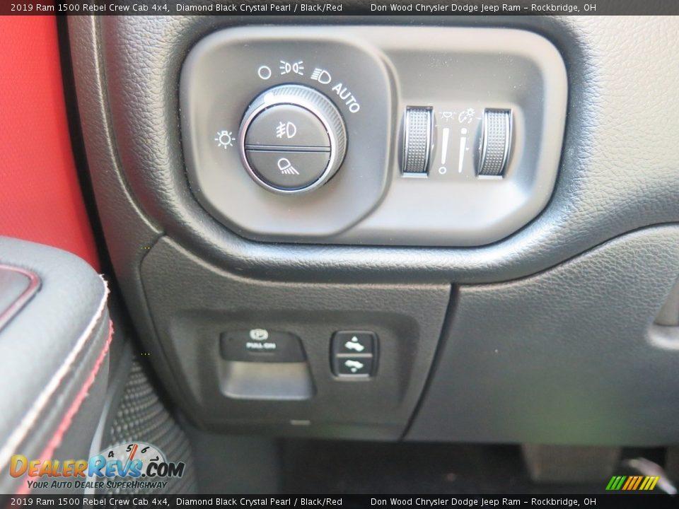 Controls of 2019 Ram 1500 Rebel Crew Cab 4x4 Photo #33