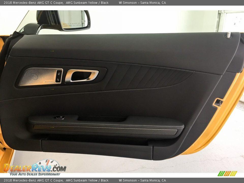 Door Panel of 2018 Mercedes-Benz AMG GT C Coupe Photo #29