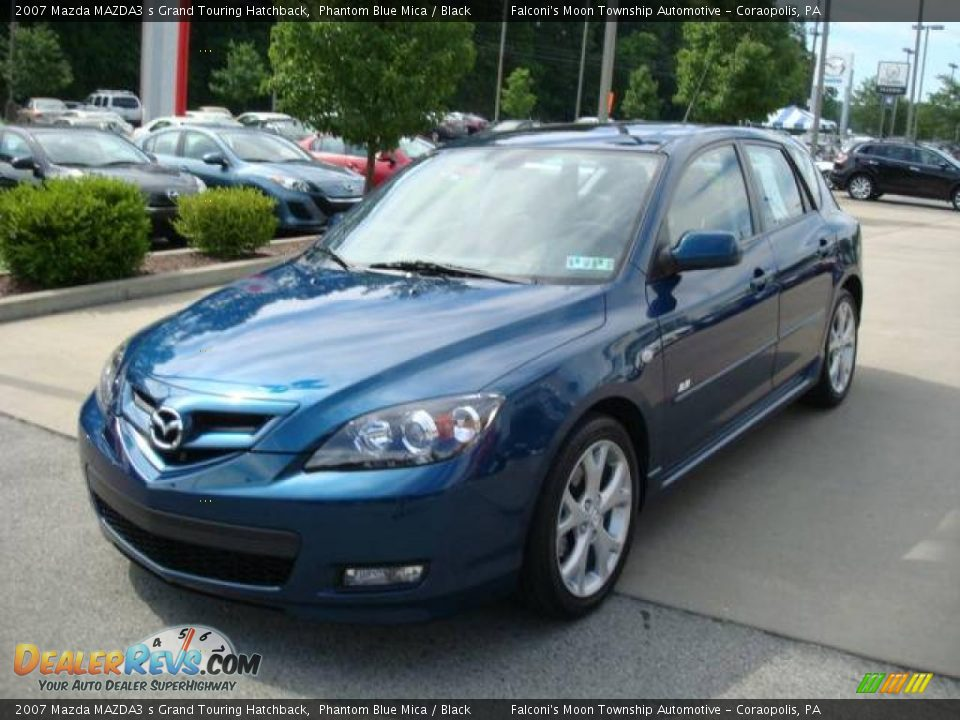2007 Mazda Mazda3 S Grand Touring Hatchback Phantom Blue