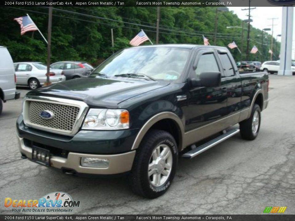 2004 ford f150 lariat supercab 4x4 aspen green metallic. Black Bedroom Furniture Sets. Home Design Ideas