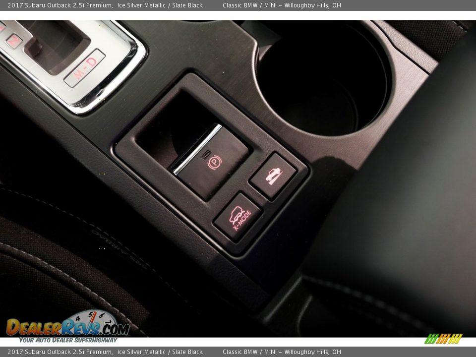 2017 Subaru Outback 2.5i Premium Ice Silver Metallic / Slate Black Photo #18