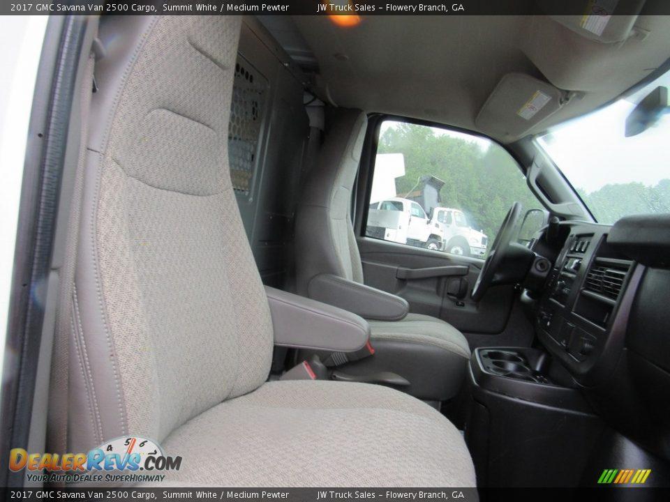 2017 GMC Savana Van 2500 Cargo Summit White / Medium Pewter Photo #20