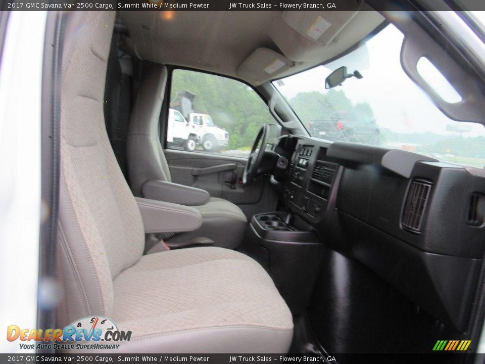 2017 GMC Savana Van 2500 Cargo Summit White / Medium Pewter Photo #21