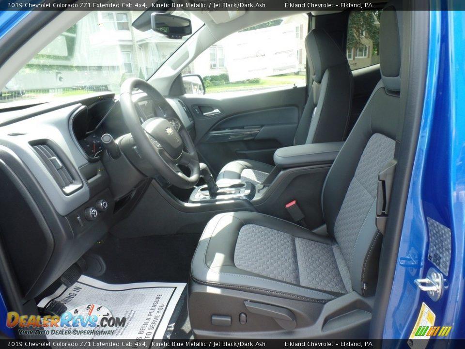 2019 Chevrolet Colorado Z71 Extended Cab 4x4 Kinetic Blue Metallic / Jet Black/Dark Ash Photo #15