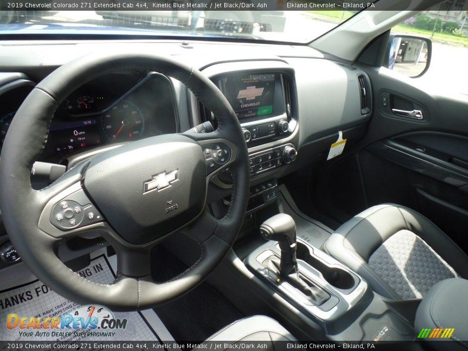 2019 Chevrolet Colorado Z71 Extended Cab 4x4 Kinetic Blue Metallic / Jet Black/Dark Ash Photo #17