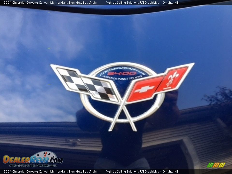2004 Chevrolet Corvette Convertible LeMans Blue Metallic / Shale Photo #11