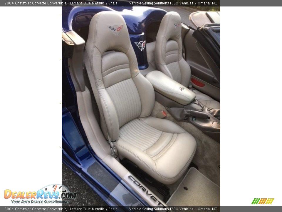 2004 Chevrolet Corvette Convertible LeMans Blue Metallic / Shale Photo #16
