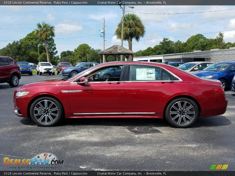 Ruby Red 2018 Lincoln Continental Reserve Photo #2