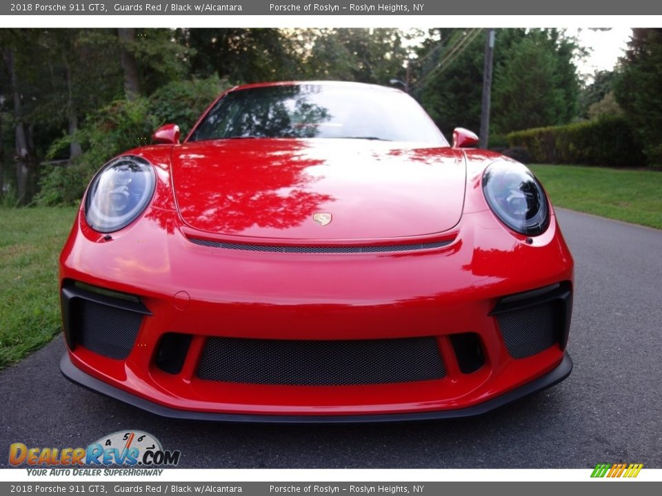 2018 Porsche 911 GT3 Guards Red / Black w/Alcantara Photo #2