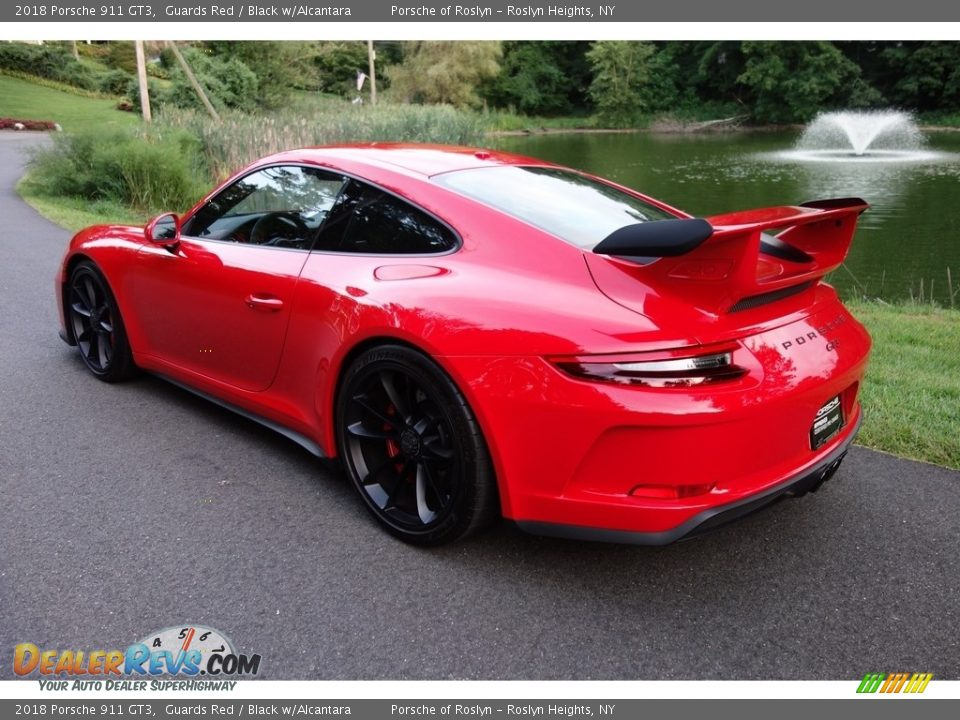 2018 Porsche 911 GT3 Guards Red / Black w/Alcantara Photo #4