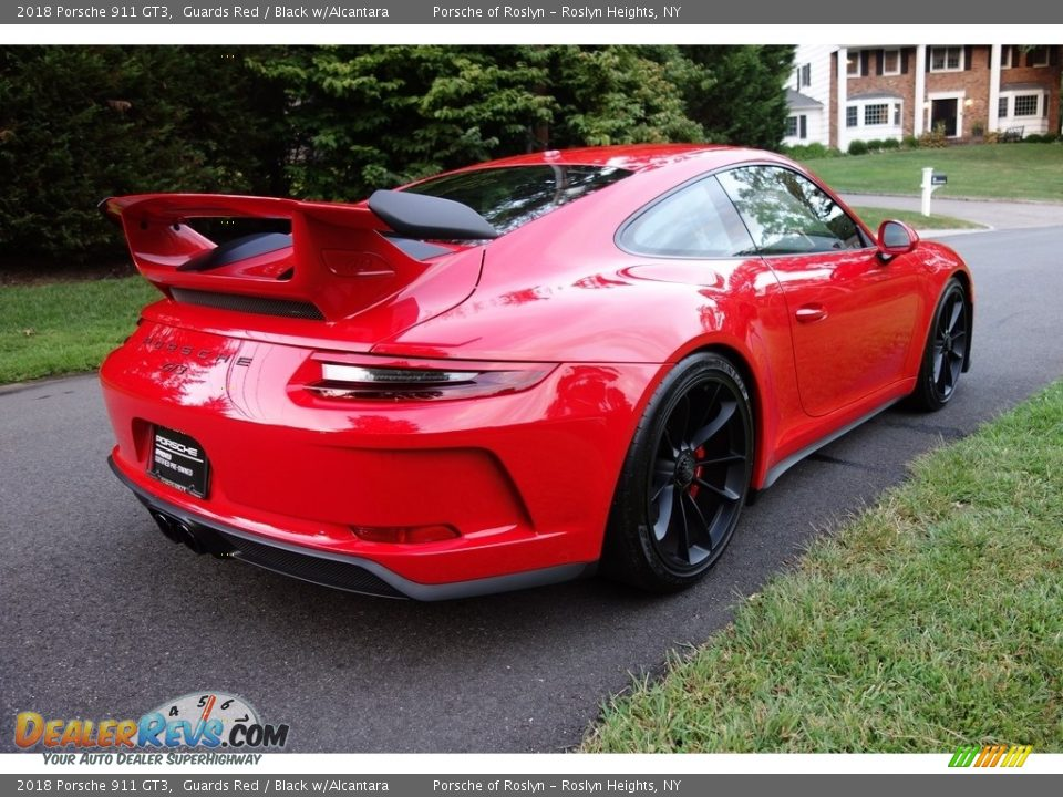 2018 Porsche 911 GT3 Guards Red / Black w/Alcantara Photo #6