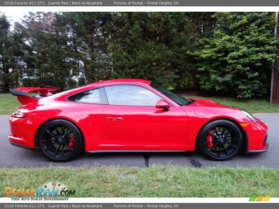 2018 Porsche 911 GT3 Guards Red / Black w/Alcantara Photo #7