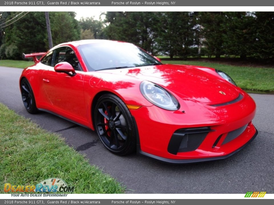 Guards Red 2018 Porsche 911 GT3 Photo #8