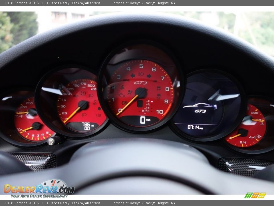2018 Porsche 911 GT3 Gauges Photo #17