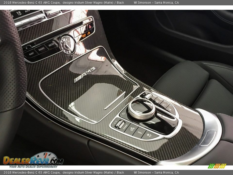 Controls of 2018 Mercedes-Benz C 63 AMG Coupe Photo #7