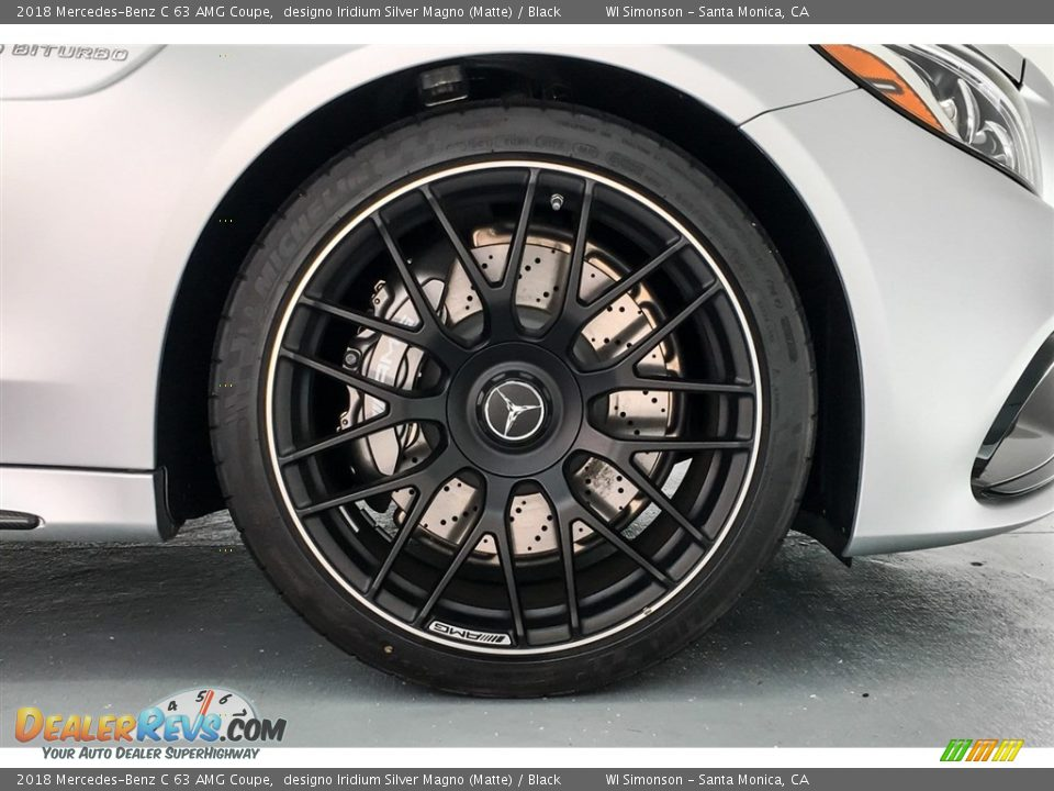 2018 Mercedes-Benz C 63 AMG Coupe Wheel Photo #9