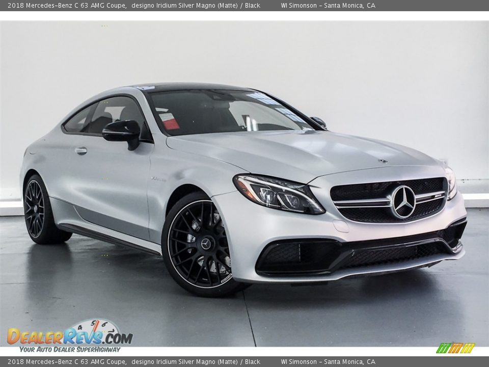 Front 3/4 View of 2018 Mercedes-Benz C 63 AMG Coupe Photo #12