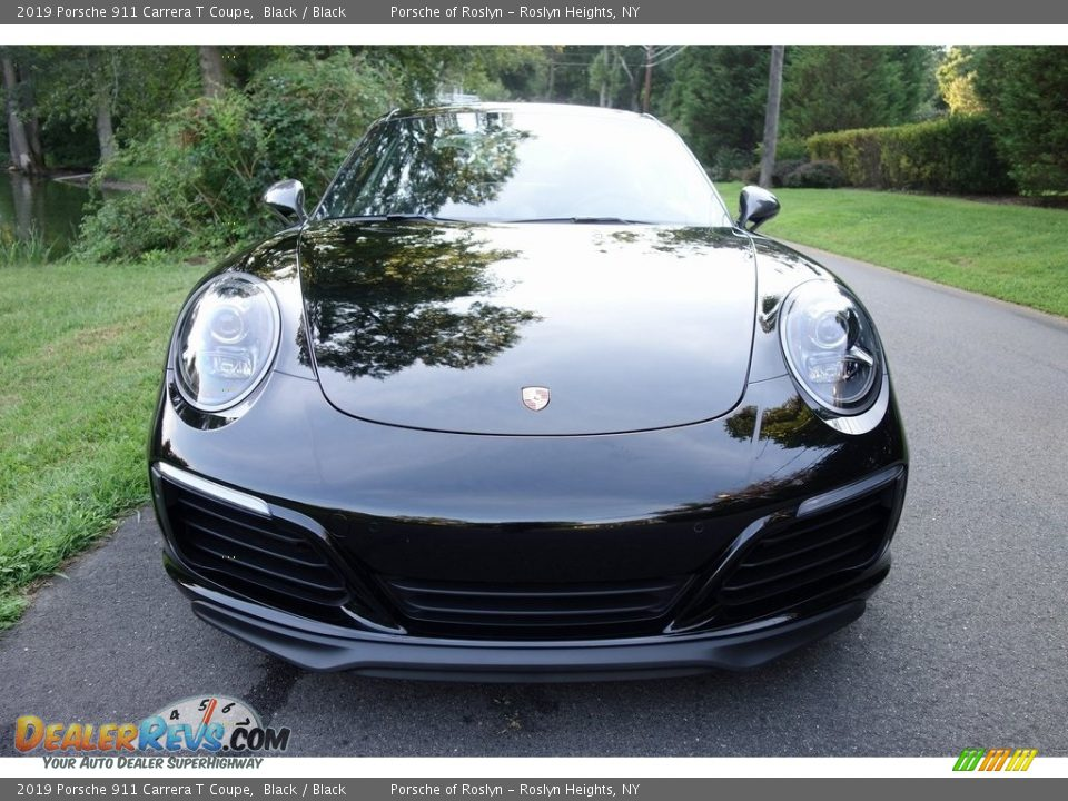 2019 Porsche 911 Carrera T Coupe Black / Black Photo #2