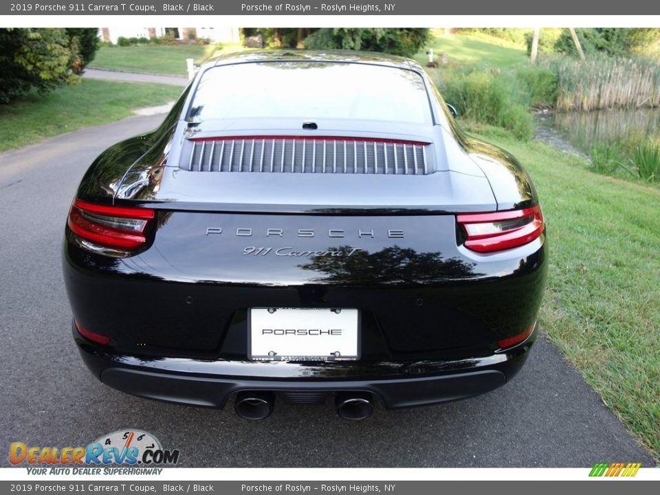 2019 Porsche 911 Carrera T Coupe Black / Black Photo #5