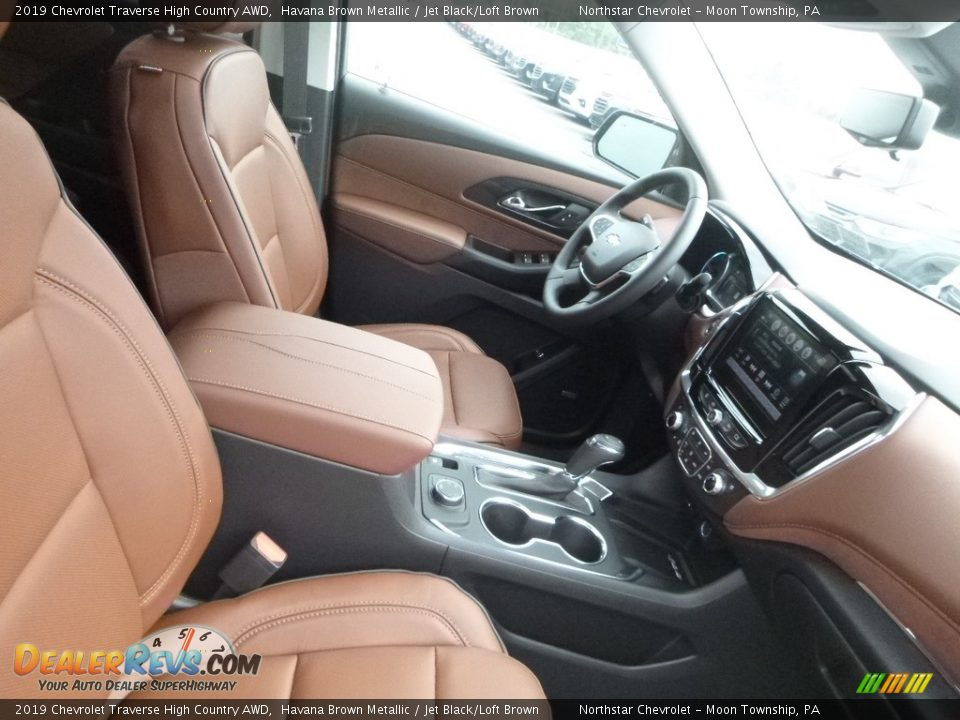 2019 Chevrolet Traverse High Country AWD Havana Brown Metallic / Jet Black/Loft Brown Photo #10