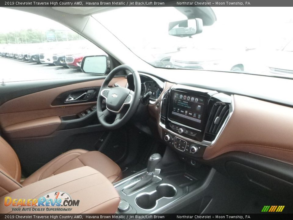 2019 Chevrolet Traverse High Country AWD Havana Brown Metallic / Jet Black/Loft Brown Photo #11
