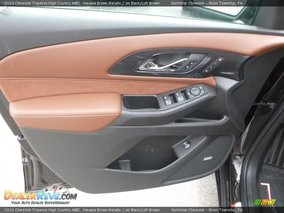 2019 Chevrolet Traverse High Country AWD Havana Brown Metallic / Jet Black/Loft Brown Photo #16