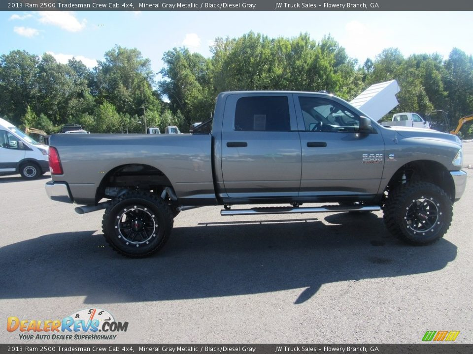 2013 Ram 2500 Tradesman Crew Cab 4x4 Mineral Gray Metallic / Black/Diesel Gray Photo #6