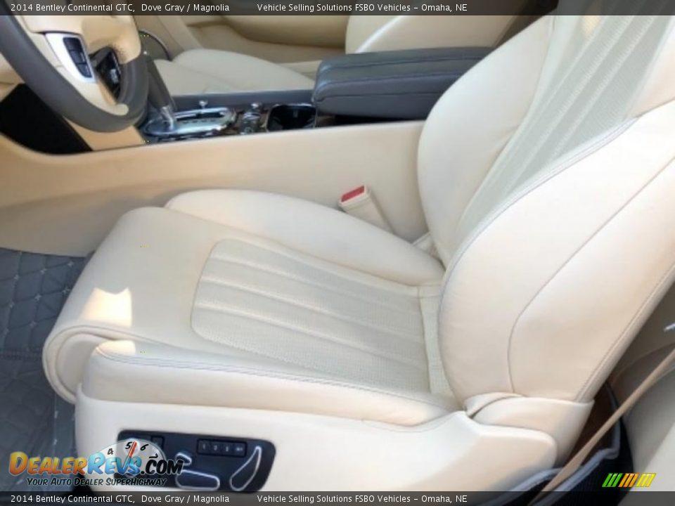 2014 Bentley Continental GTC Dove Gray / Magnolia Photo #7