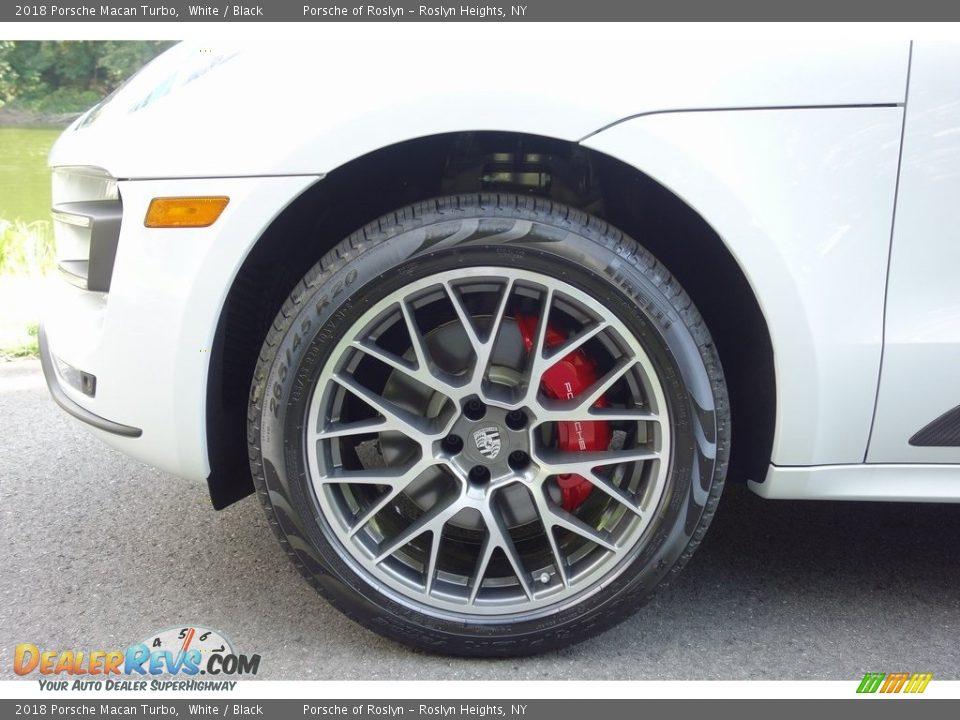 2018 Porsche Macan Turbo Wheel Photo #9