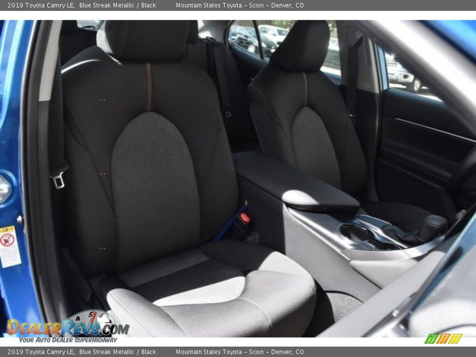 2019 Toyota Camry LE Blue Streak Metallic / Black Photo #13
