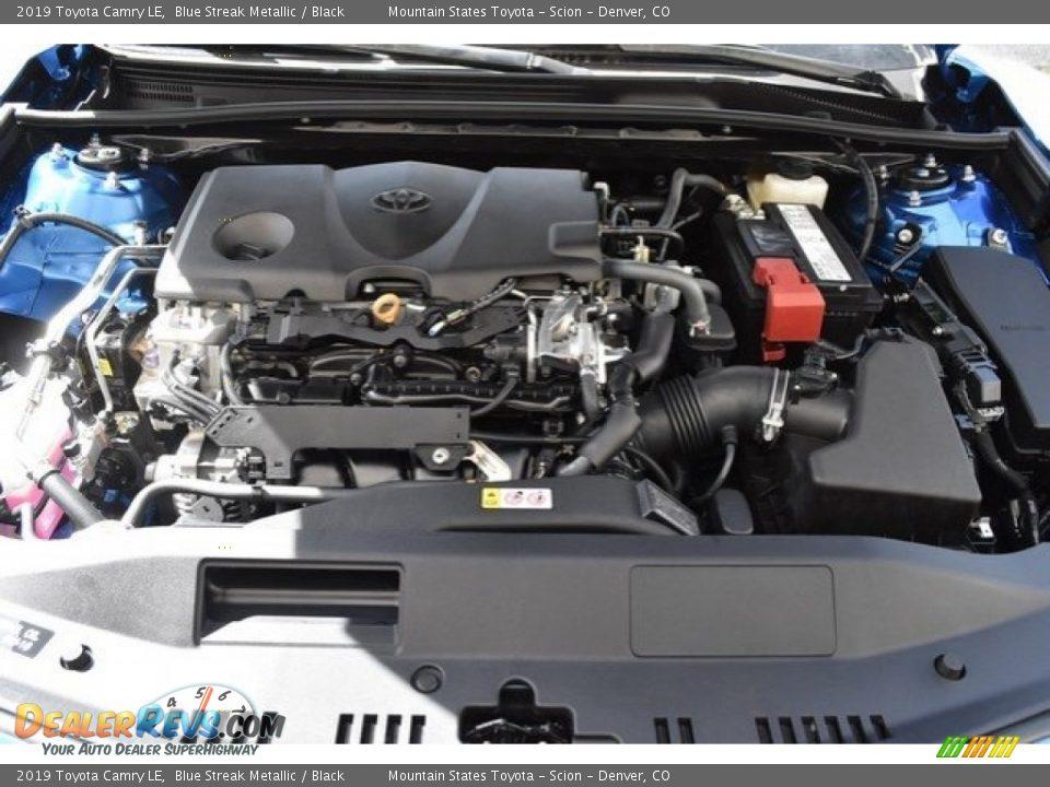 2019 Toyota Camry LE Blue Streak Metallic / Black Photo #31