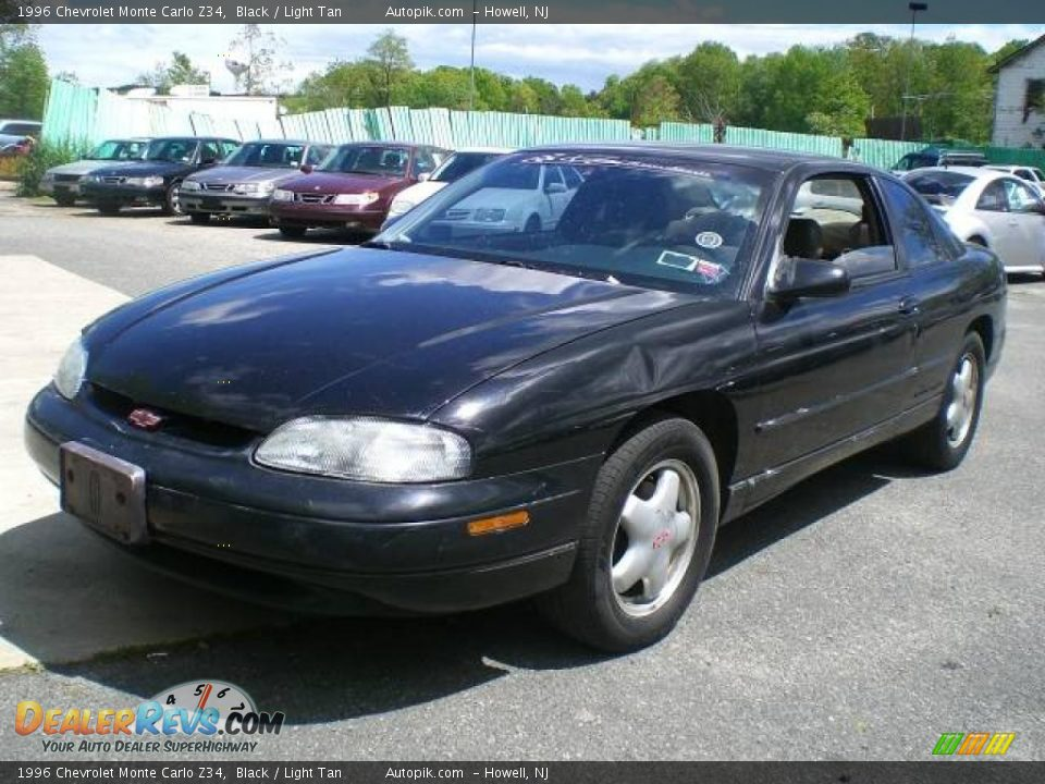 1996 chevrolet monte carlo z34 black light tan photo 3. Black Bedroom Furniture Sets. Home Design Ideas