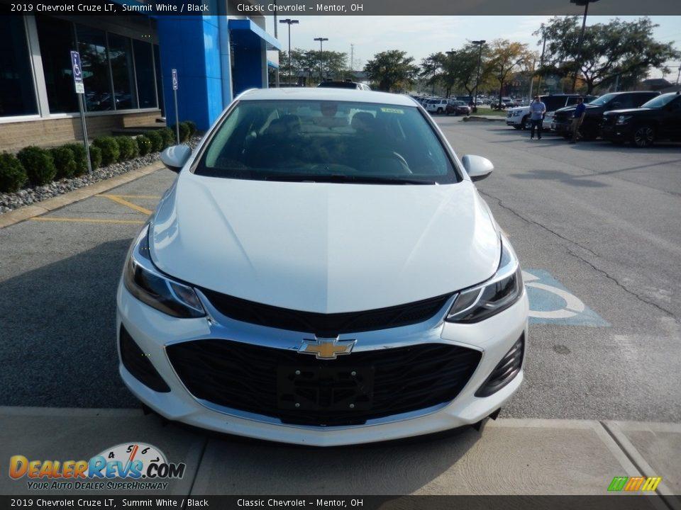 2019 Chevrolet Cruze LT Summit White / Black Photo #2