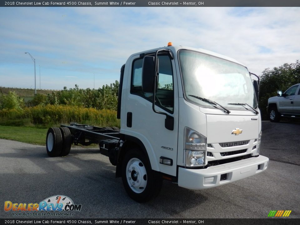 Summit White 2018 Chevrolet Low Cab Forward 4500 Chassis Photo #3