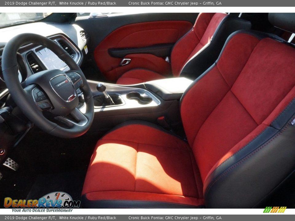 Ruby Red/Black Interior - 2019 Dodge Challenger R/T Photo #4