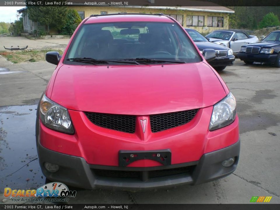 2003 pontiac vibe gt lava red slate photo 2. Black Bedroom Furniture Sets. Home Design Ideas
