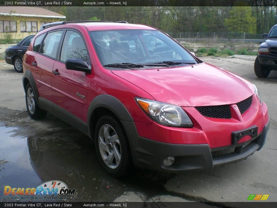2003 pontiac vibe gt lava red slate photo 3. Black Bedroom Furniture Sets. Home Design Ideas