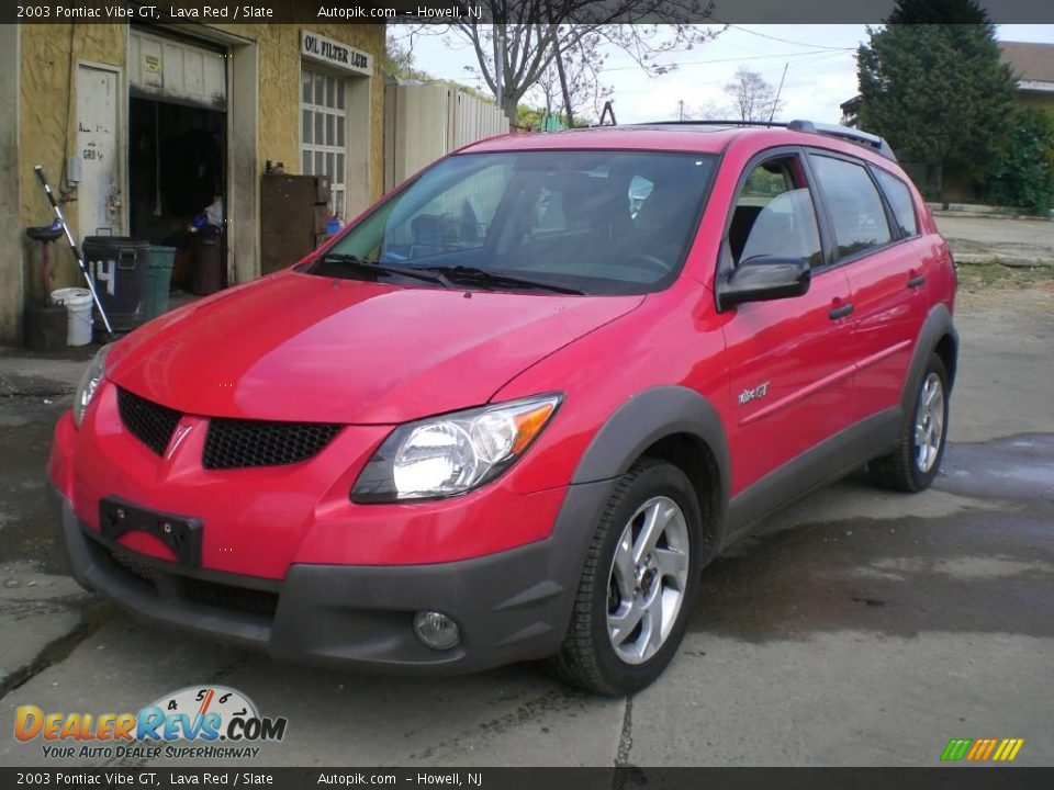 2003 pontiac vibe gt lava red slate photo 4. Black Bedroom Furniture Sets. Home Design Ideas