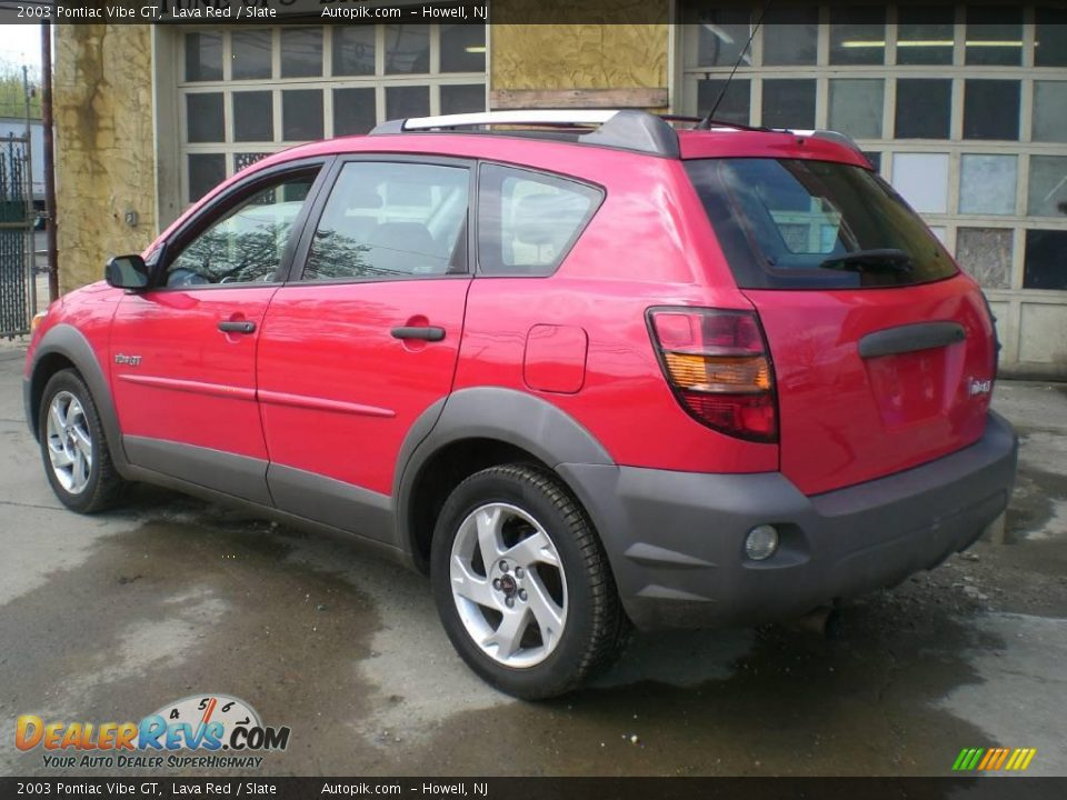 2003 pontiac vibe gt lava red slate photo 5. Black Bedroom Furniture Sets. Home Design Ideas