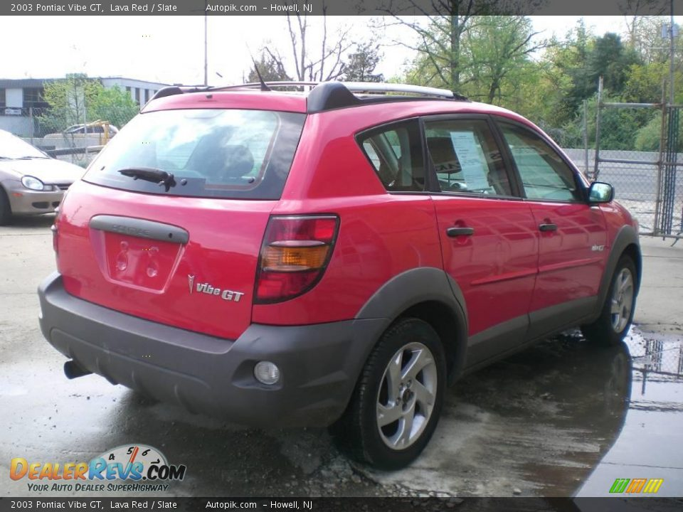 2003 pontiac vibe gt lava red slate photo 7. Black Bedroom Furniture Sets. Home Design Ideas
