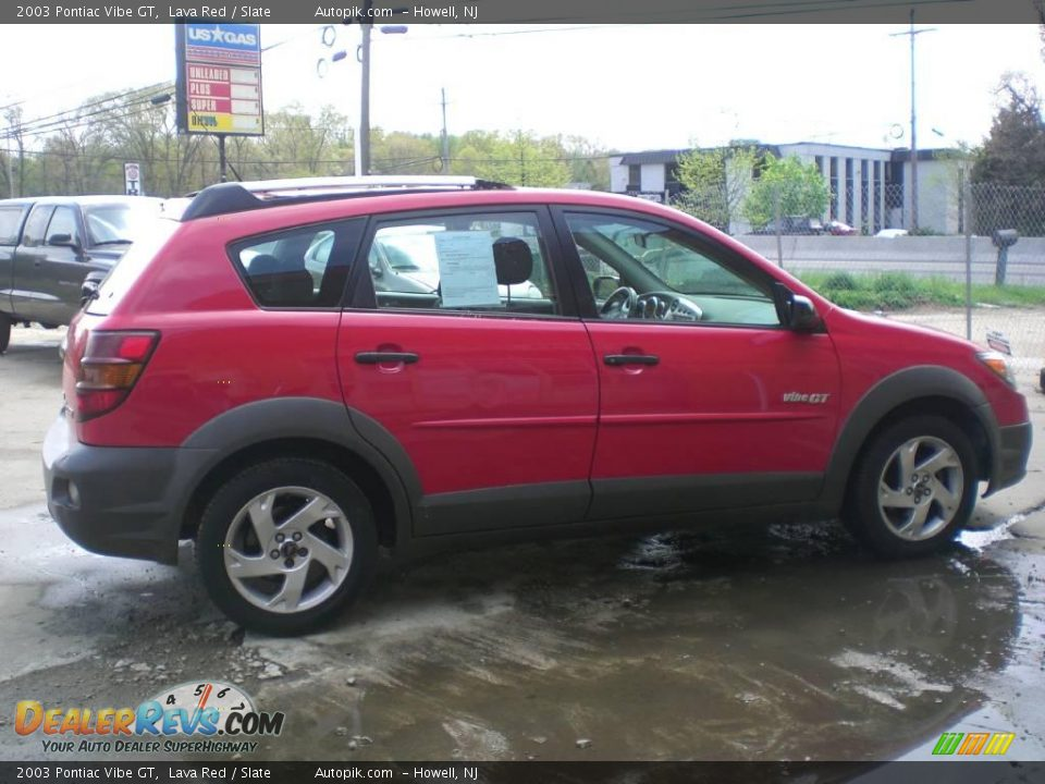 2003 pontiac vibe gt lava red slate photo 8. Black Bedroom Furniture Sets. Home Design Ideas